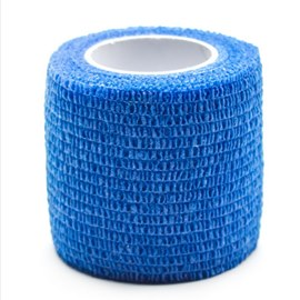 Precision Medical Cohesive Wrap Case of 12 Rolls Blue