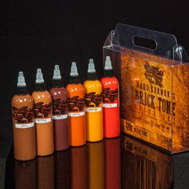 World Famous Ink Maks Kornev Bricktone Set 4oz